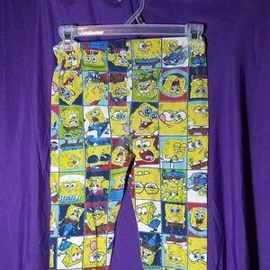 Boys sponge bob pj bottoms